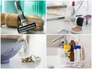 10 vật dụng đừng bao giờ để trong nhà tắm