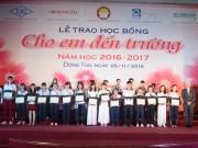 Tin tức cho mẹ - Ajinomoto Việt Nam đồng hành cùng trẻ em nghèo hiếu học Đồng Nai