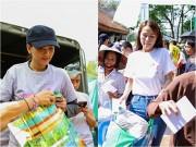 Trương Thị May, Thái Hà  & quot;đội nắng & quot; về Hà Nam làm từ thiện