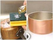 Bếp Eva - Những nguyên liệu này sẽ giúp bạn cọ xoong nồi bị cháy, bẩn sạch bong