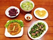 Tin tức ẩm thực - Món ăn ngon cho gia đình Việt – thực đơn giá rẻ 100.000đ mỗi ngày