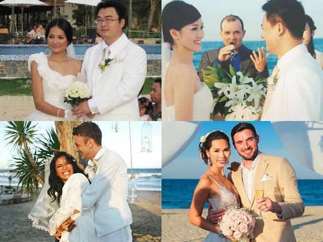 Đám cưới sao Việt: Đây là lý do mỹ nhân showbiz chọn biển làm nơi tổ chức hôn lễ
