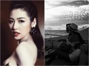 Làng sao - Á hậu Tú Anh đăng ảnh tình cảm, nói lời ngọt ngào với bạn trai