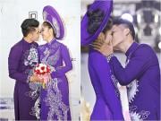 Làng sao - Lê Phương và bạn trai kém 7 tuổi liên tiếp hôn nhau trong sự kiện