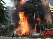 Đã có kết quả điều tra nguyên nhân vụ cháy quán karaoke ở Trần Thái Tông