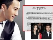 Làng sao - Lộ video tố ngoại tình, Lưu Khải Uy lên tiếng:
