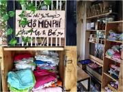 Làm mẹ - Chuyện ấm áp về bà mẹ Sài Gòn làm tủ đồ miễn phí dành cho mẹ và bé sơ sinh