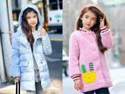 Gợi ý 10 kiểu áo khoác mùa đông cho bé gái ra đường ai cũng ngắm nhìn