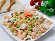 Bếp Eva - Cơm chiên hải sản nóng hổi no bụng bữa sáng