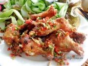 Bếp Eva - Đùi gà chiên xóc ớt tỏi dễ làm mà ngon