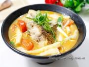 Bếp Eva - Canh măng chua nấu cá chua tuyệt ngon
