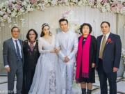 Làng sao - Người mẹ gốc Việt của Chung Lệ Đề lộ diện trong đám cưới lần 3 của con gái