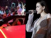 Làng sao - Hồ Ngọc Hà đưa siêu xe của chồng cũ Cường Đô La lên sân khấu