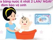 Tin tức cho mẹ - Mách mẹ 4 bí quyết sử dụng khăn ướt an toàn