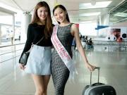 Thời trang - Chúng Huyền Thanh tiễn bạn thân đi thi HH Châu Á Thái Bình Dương