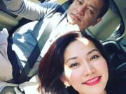 """Kim Hiền """"lủi thủi"""" theo chồng như một đứa trẻ vì... yêu"""