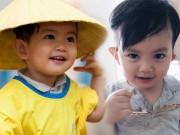 """Làng sao - """"Soái ca nhí"""" nhà Phan Hiển - Khánh Thi đáng yêu cỡ này cơ mà!"""