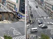 Tin tức - Hố tử thần 30m giữa phố, Nhật Bản sửa chữa thần tốc trong vòng 48 giờ