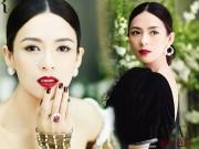 Làng sao - Chương Tử Di lại giống geisha Nhật Bản trên bìa tạp chí