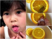 Làm mẹ - Trị ho cho trẻ bằng món cam hấp đơn giản nhưng cực hiệu quả