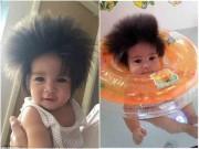 Làm mẹ - Đây là bé gái có mái tóc