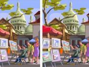 Eva tám - Đố bạn tìm đủ 10 điểm khác nhau trong hai bức hình này?