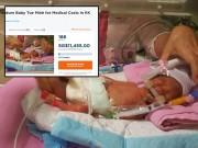 Làm mẹ - Bố Việt lên mạng cầu cứu 4 tỷ cứu con sinh non bất ngờ tại Singapore