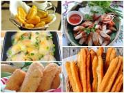 Bếp Eva - 5 món ăn vặt tuyệt ngon không thể bỏ qua trong mùa đông