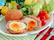Bếp Eva - Thịt bọc trứng chiên lòng đào lạ miệng mà ngon