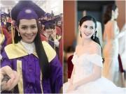 Sao Việt - Vừa học vừa làm, Người đẹp HH Hoàn vũ vẫn tốt nghiệp Đại học loại ưu