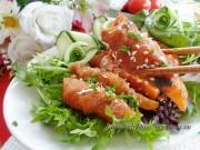Bếp Eva - Thịt heo cuộn khoai tây sốt cà chua thơm ngon, lạ miệng
