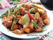Bếp Eva - Ba chỉ xào dưa cải chua cực kỳ tốn cơm đấy nhé!