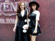 Xem & Đọc - 2 Hot girl Kelly và Lilly Luta đọ độ xinh tươi tại sự kiện