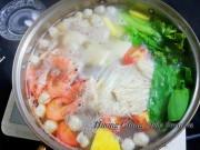 Bếp Eva - Lẩu hải sản hấp dẫn cho cuối tuần