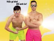 """Xem & Đọc - Người yêu Trương Ngọc Ánh diện quần đùi... hồng phấn làm """"Vệ sĩ Sài Gòn"""""""