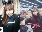 """Làm đẹp - Tưởng là  """"học sinh cấp 2"""" nhưng đây lại là bà mẹ 2 con nổi tiếng nhất Hàn Quốc"""