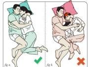 Eva Yêu - Hài hước với loạt tư thế ngủ tốt nhất và tồi tệ nhất của các cặp vợ chồng