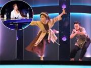 Khánh Thi chết lặng vì bài nhảy khắc họa bão lũ ở miền Trung