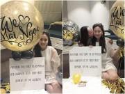 Làng sao - BTV Thời tiết Mai Ngọc làm tiệc chia tay đời độc thân đầy ngọt ngào