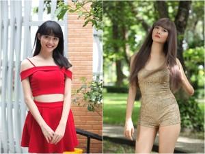 """Siêu mẫu Châu Á Trương Mỹ Nhân khoe thân hình bốc lửa khi vào vai thiếu nữ """"sống ảo"""""""