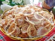 Bếp Eva - Giòn tan, đã miệng với bánh tai heo khoai lang ăn vặt buổi chiều