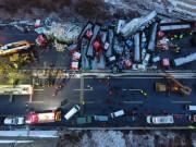 Tin tức - 56 ô tô đâm nhau liên hoàn trên cao tốc, 17 người thiệt mạng