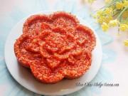 Bếp Eva - Xôi gấc vừa dẻo vừa ngon ai ăn cũng thích