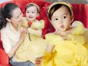 Làng sao - Đáng yêu như con gái mỹ nhân Philippines khi hóa thành công chúa Belle