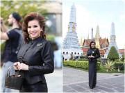 Hoa hậu Kim Hồng bình an nơi đất Phật sau cuộc ly hôn lặng lẽ