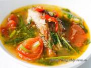 Bếp Eva - Canh cá chép nấu thì là nóng hổi trôi cơm