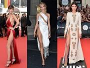 Thời trang - Những chiếc váy xẻ đùi táo bạo nhất thế giới khiến người ngắm nổi da gà