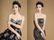 Làng sao - Hoa hậu Đỗ Mỹ Linh khoe nét thanh tân với loạt váy gợi cảm