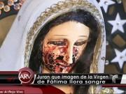 """Tin tức - Phát hiện tượng Đức Mẹ Đồng Trinh """"khóc ra máu"""" ở Mexico"""