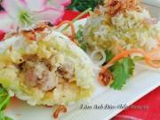 Bếp Eva - Xôi bọc thịt, đậu xanh ngon không thể chối từ cho bữa sáng